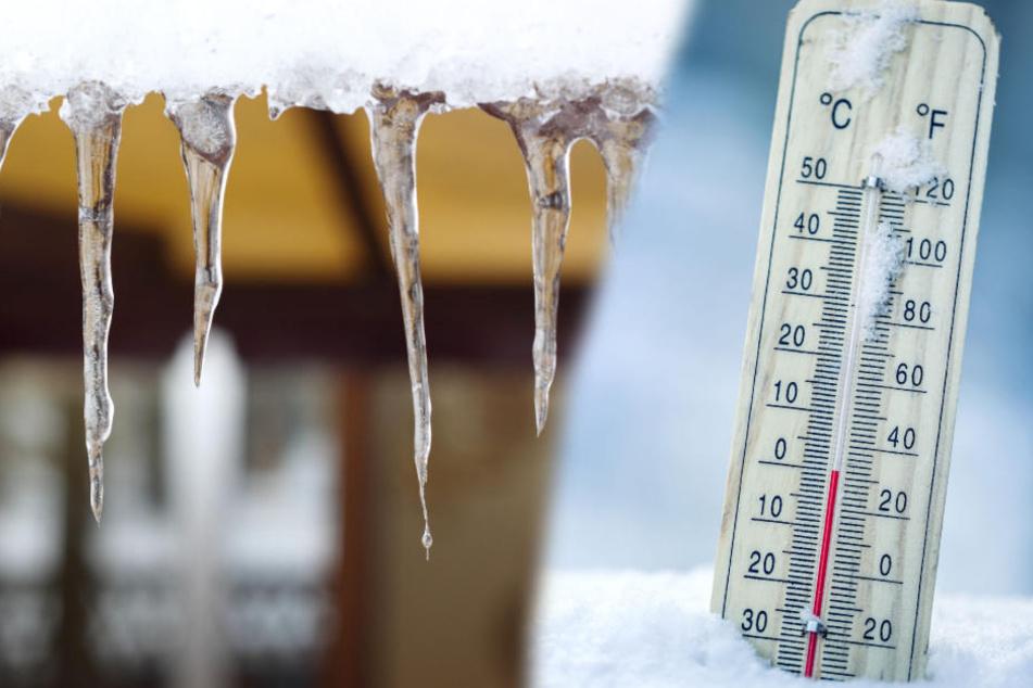 Das Thermometer purzelte in der Nacht zu Samstag mächtig hinab.