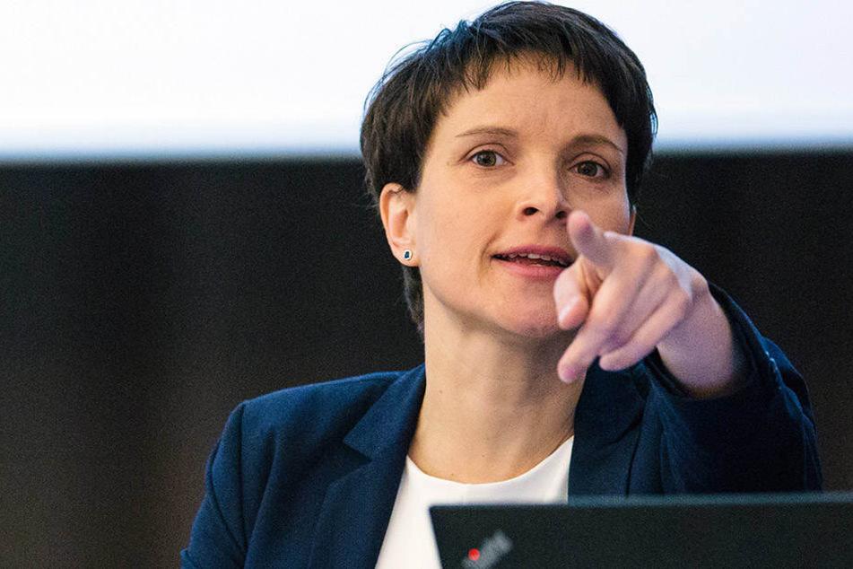 Frauke Petry (41) ist innerhalb der AfD nicht ganz unumstritten.