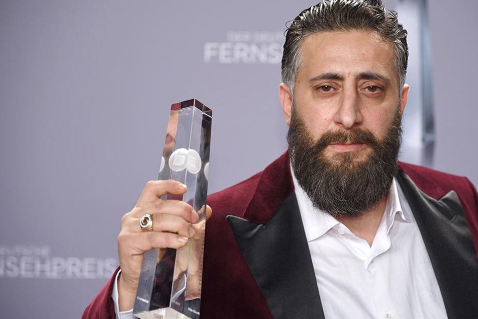 """Kida Khodr Ramadan wurde als """"Bester Schauspieler"""" bei der Verleihung des 19. Deutschen Fernsehpreises geehrt."""