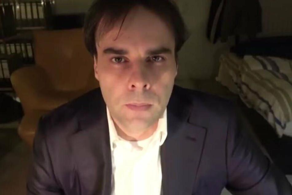 Der Screenshot zeigt den mutmaßlichen Hanau-Attentäter Tobias R..
