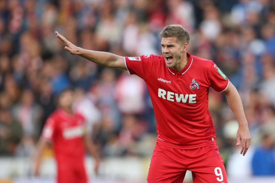 Kölns Simon Terodde (30) hat in dieser Saison zwei Ziele im Auge.