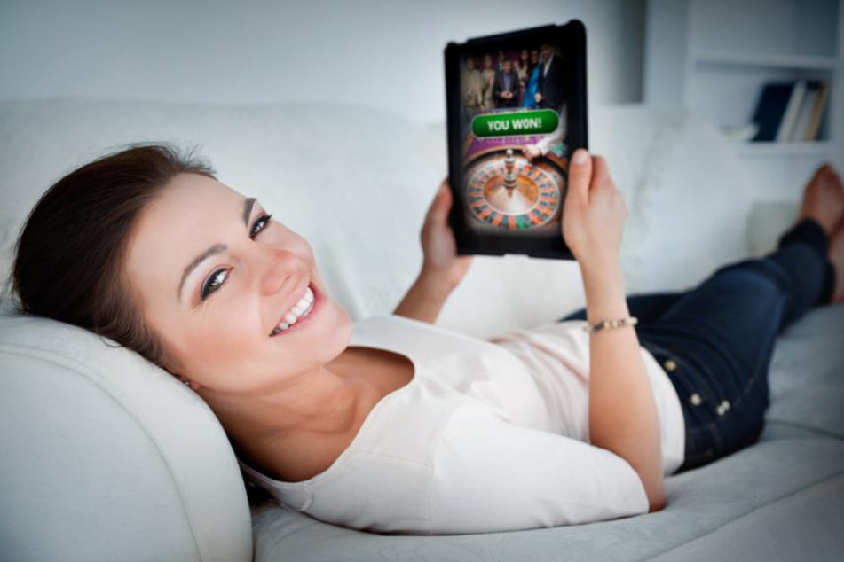 Online-Glücksspiel wird immer beliebter.
