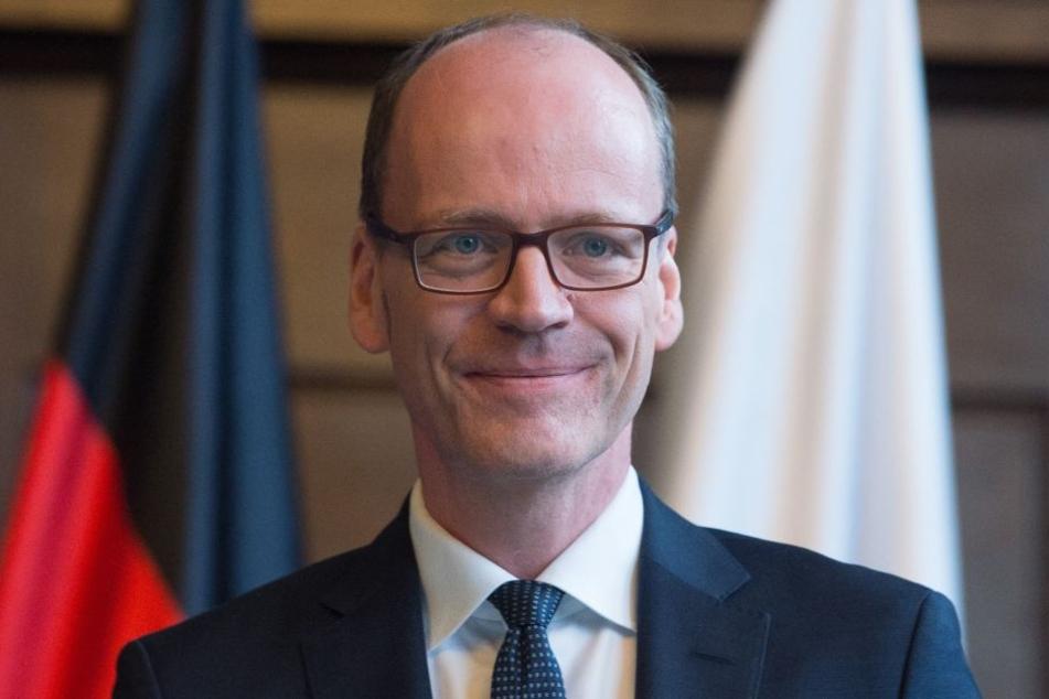 Lieber ein Ende mit Schrecken als ein Schrecken ohne Ende: Sachsens Finanzminister Matthias Haß (CDU) stoppte das Gefängnis-Projekt und will eine neue Ausschreibung.