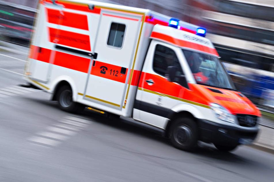 Der kroatische Fußballfan verletzte sich schwer und wurde in eine Klinik gebracht.