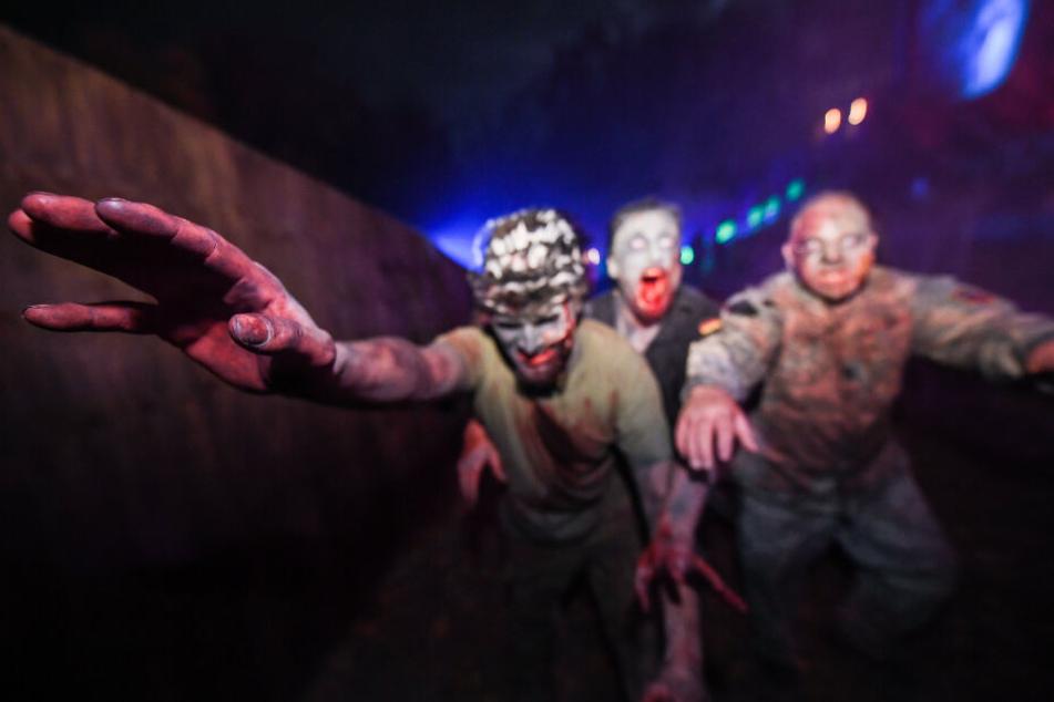 """An Halloween werden auch wieder zahlreiche """"Zombies"""" unterwegs sein (Symbolbild)."""