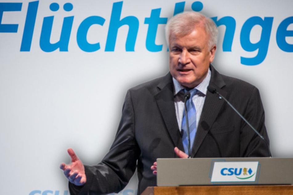 """Horst Seehofer hat CSU-Parteikollegen seinen """"Masterplan Migration"""" vorgelegt."""