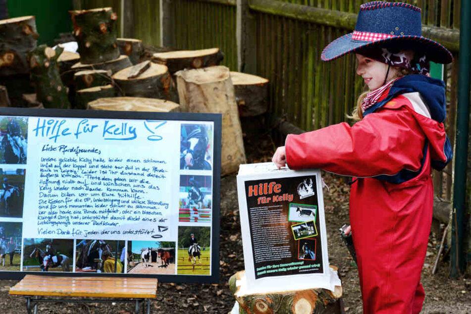 Beim Kinderfasching auf der Hofwiese wird für Kelly gesammelt. Die Behandlung  kostet tausende Euro.