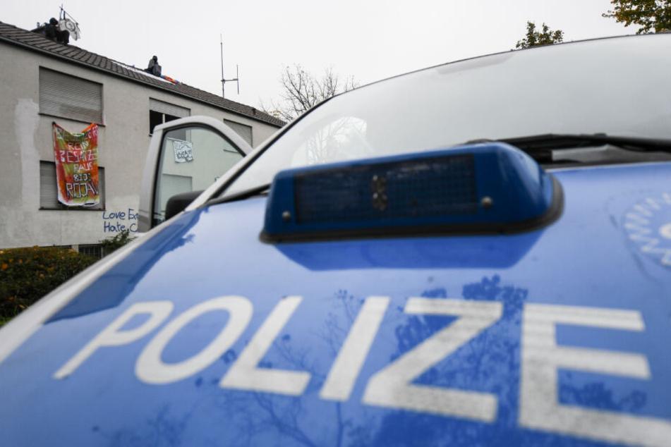 Spezialkräfte der Polizei räumten das besetzte Gebäude.