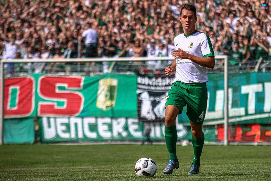 Abwehrspieler Manuel Wajer traf bisher dreimal für die BSG.