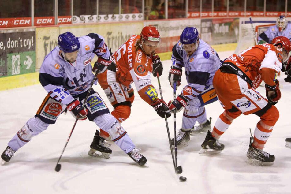 Am Freitagabend siegten die Eispiraten 4:1 über die Ravensburg Towerstars.