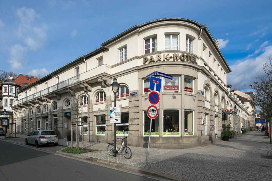 Der Neubau des Parkhotels wurde vor gut 100 Jahren eröffnet.