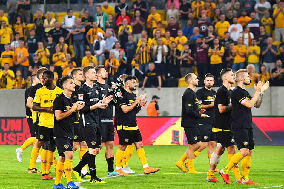 Trotz Niederlage wurden die Dynamos von den Fans für ihr Auftreten mit Applaus bedacht.