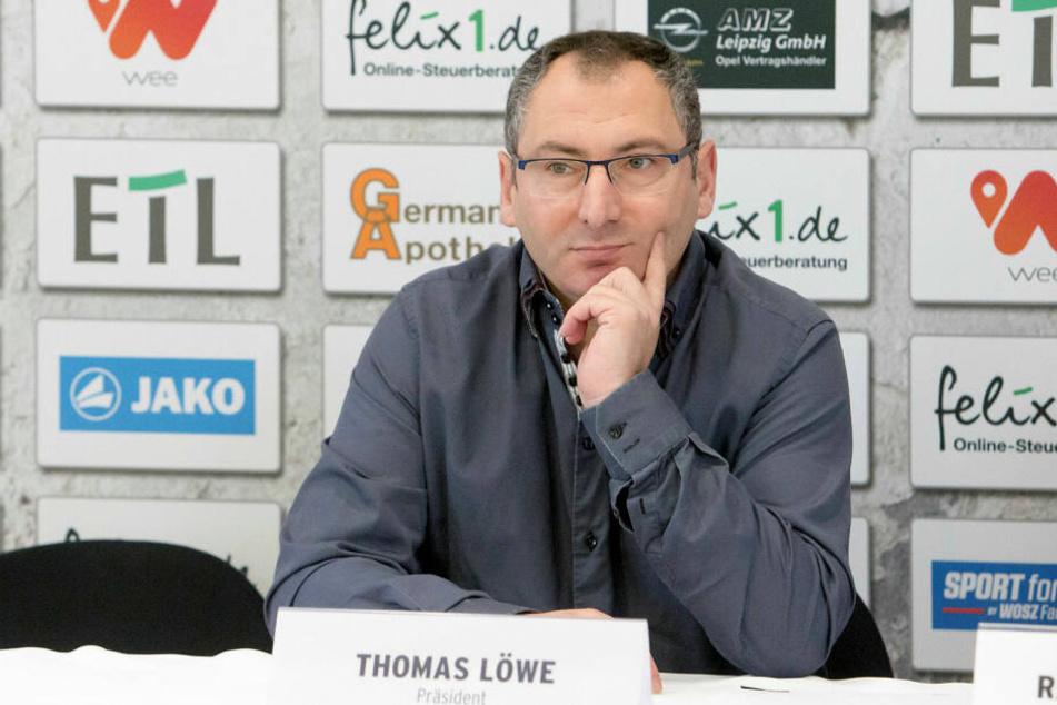 Lok-Präsident Thomas Löwe (50) befürchtet durch die Eliminierung der Nordost-Staffel das Ausbleiben von Traditionsduellen, wie das anstehende Lok Leipzig gegen den BFC Dynamo.