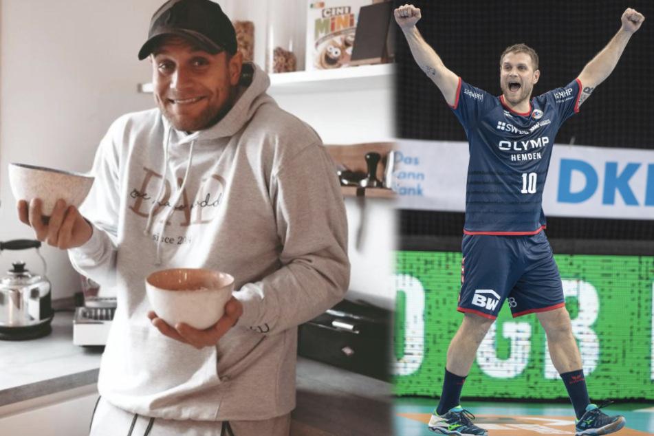 Handball-Star Mimi Kraus braucht hübsches Bild von seiner Frau, doch sie prankt ihn hart