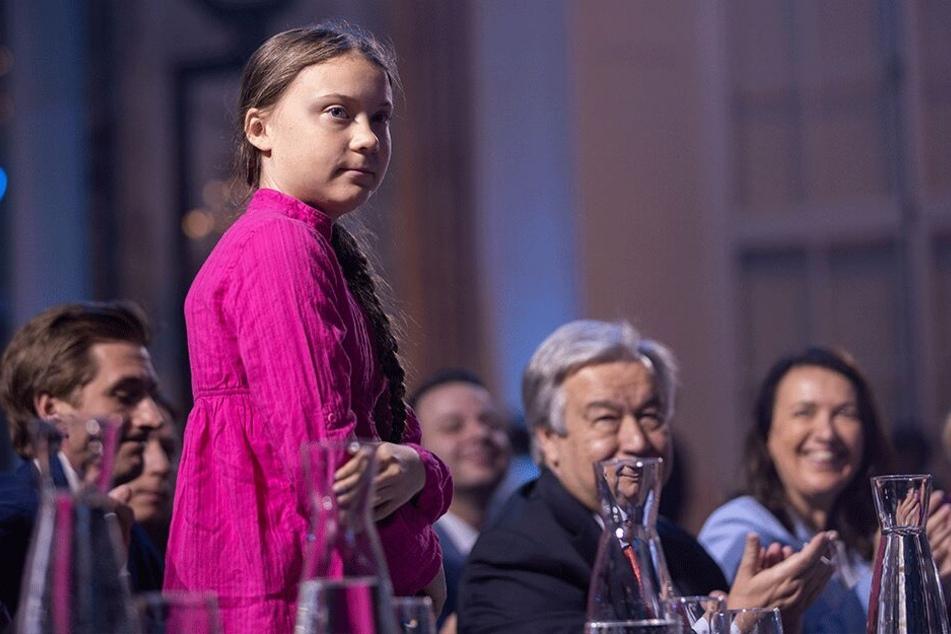 Greta Thunberg ließ die anwesenden Pressevertreter aus Furcht vor Negativschlagzeilen aus dem Saal werfen.