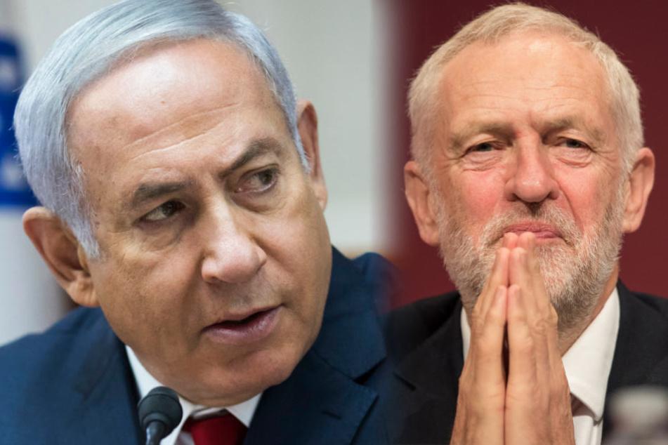 Netanjahu attackiert Corbyn für Gedenken an palästinensische Terroristen