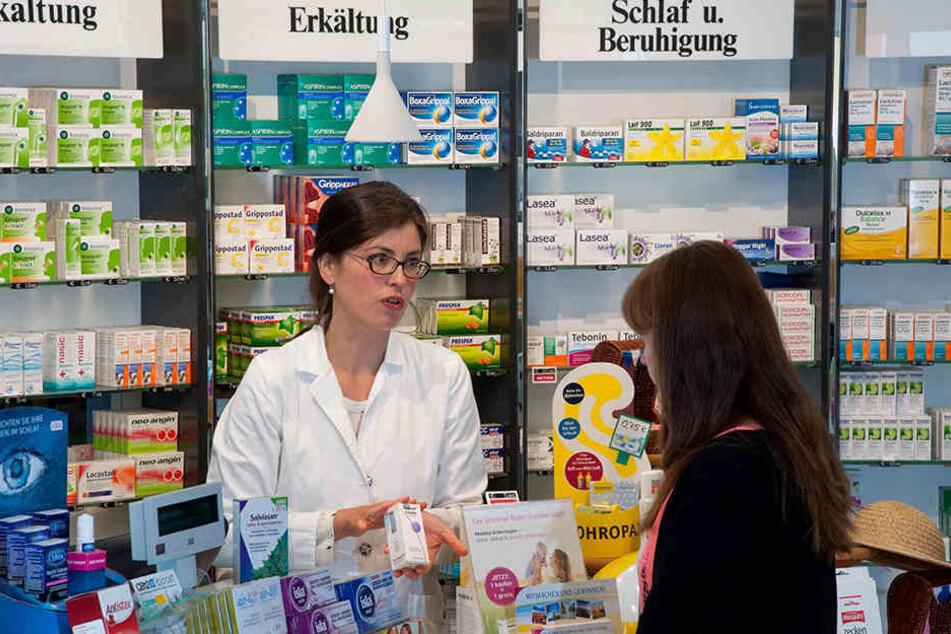 Zahlreiche Apotheken in und um Dresden haben auch an den Feiertagen geöffnet,