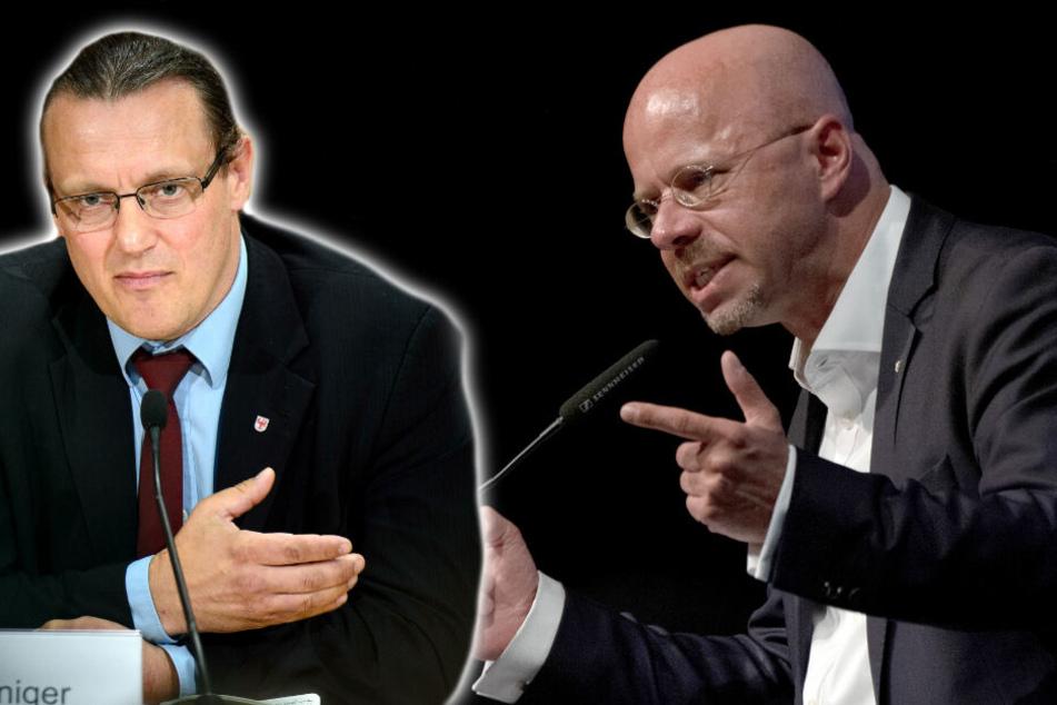 """""""Ich fühle mich bedroht"""": Politiker stellt Strafanzeige gegen AfD-Fraktionschef Kalbitz!"""