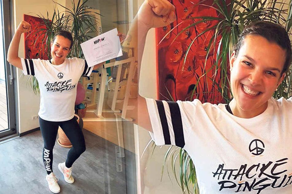 """Alexandra Gregus (34): """"Als Trainerin muss ich Sport machen, kann nicht wieder in alte Muster zurückfallen."""""""