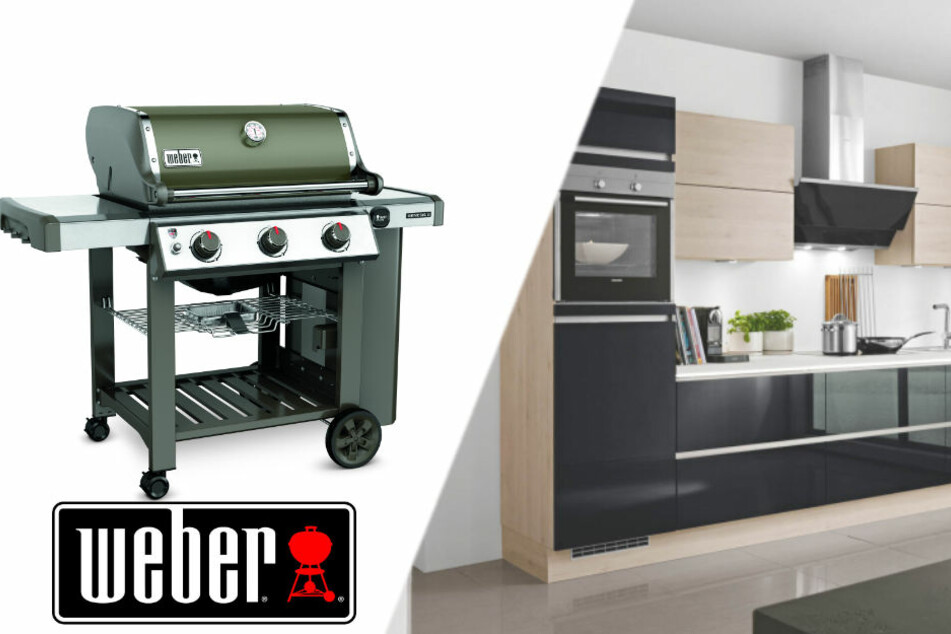 Weber Outdoor Küche Unterschied : Weber gasgrill q black line amazon garten