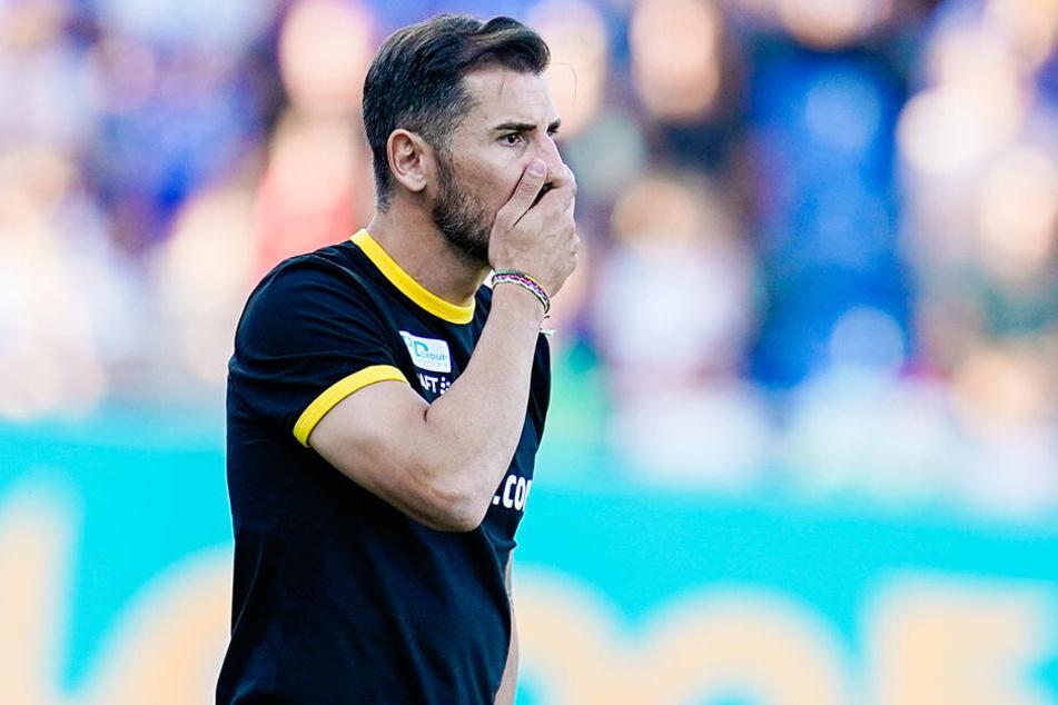 Cristian Fiel konnte kaum glauben, welche Möglichkeiten sein Team vergab.