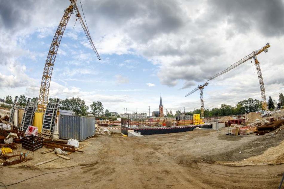Hier entsteht Dresdens größter Schulcampus