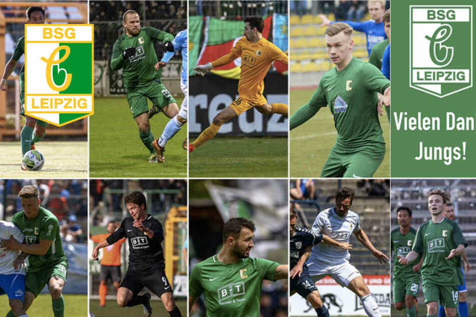 Diese neun Spieler verlassen die BSG Chemie Leipzig