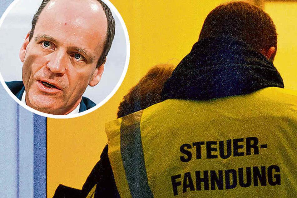 Sachsens Steuerfahnder auf der Spur von Millionenbetrügern