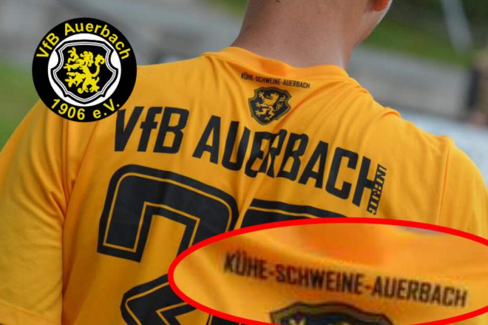 """VfB mit verrücktem Motto im Kragen: """"Kühe, Schweine, Auerbach!"""""""