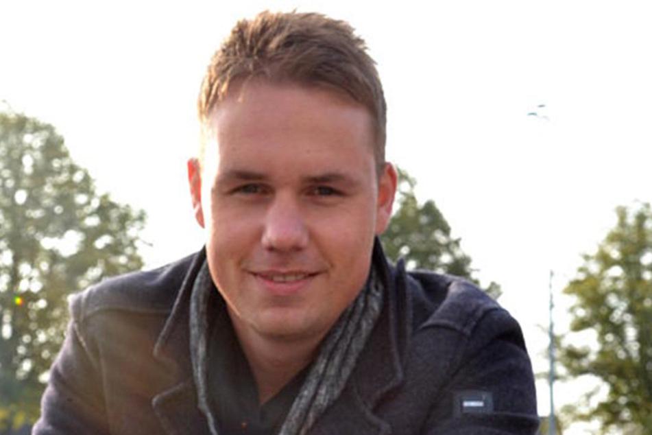 Marcel Höcker (30) ist der Erfinder des Desinfektionsschiebers.