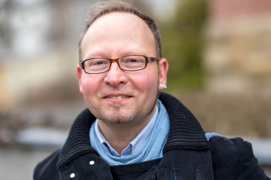 Andreas Wolf-Kather (43) von der Grünen-Fraktion wünscht sich für betroffene Rentner eine Alternative.