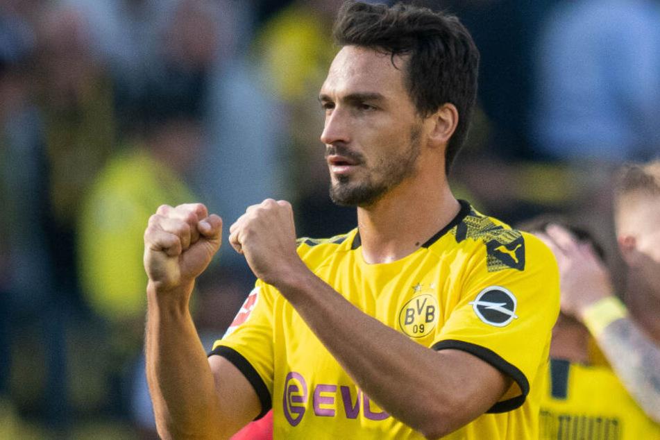 Mats Hummels will mit dem BVB in München einen wichtigen Sieg feiern.