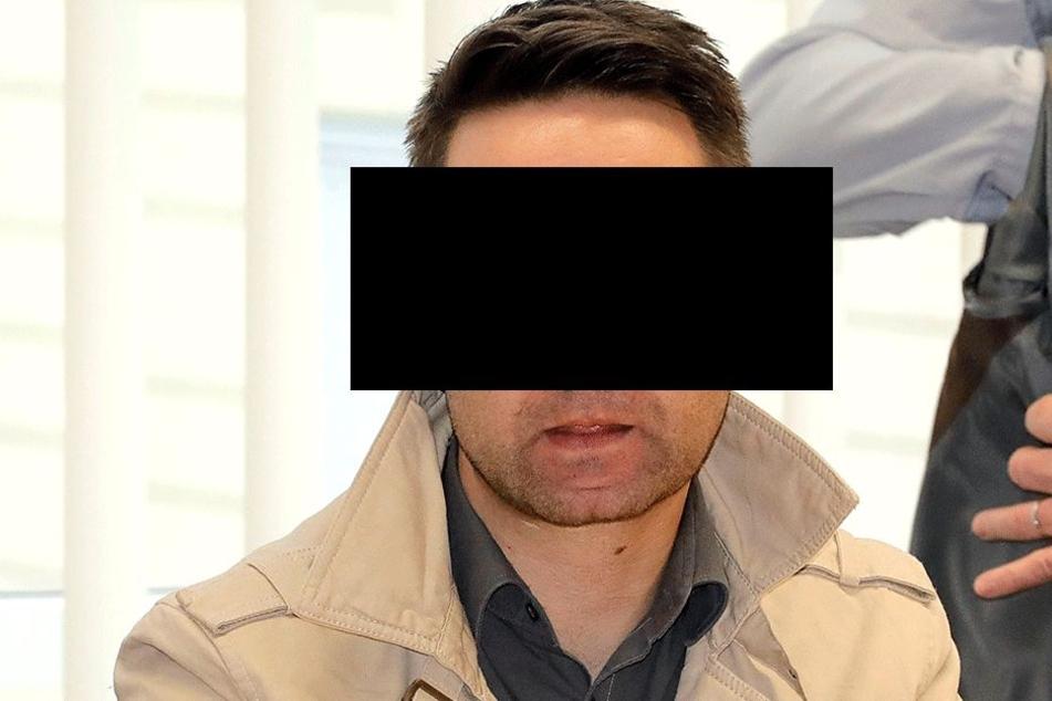Alexander A. (36), der Angeklagte ist gleichzeitig der Hauptbelastungszeuge.