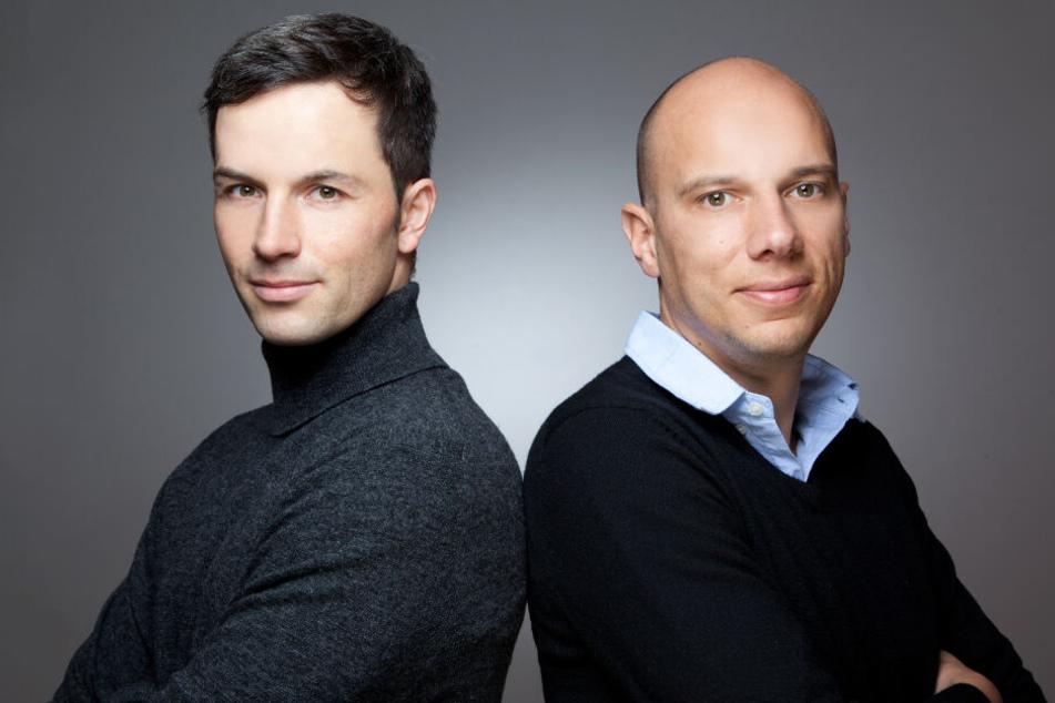 Marc Friedrich (links im Bild) und Matthias Weik.