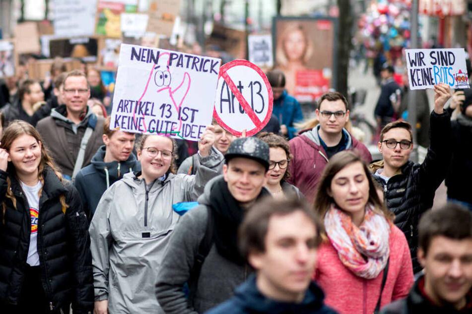 Wochenlang kämpften Tausende in ganz Deutschland gegen die Reform des Urheberrechts.