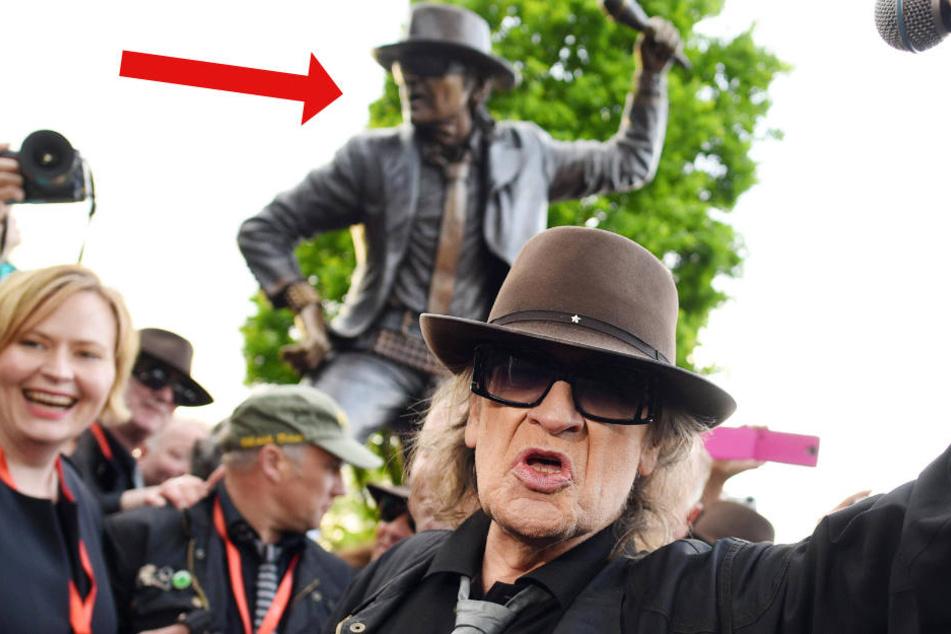 Diebe stehlen Statue von Udo Lindenberg
