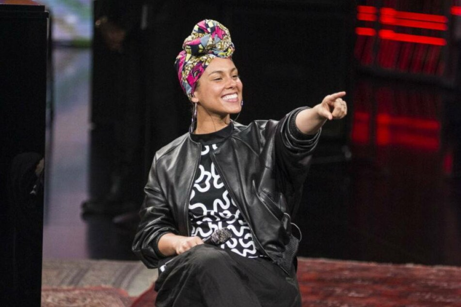 Alicia Keys hofft auf Make-up-Revolution