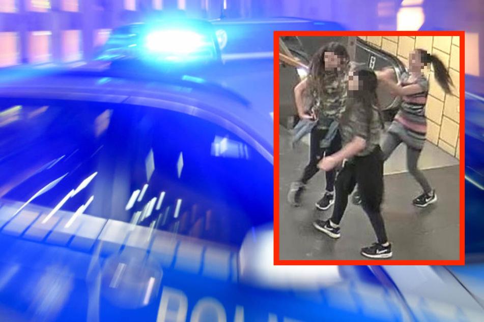 Wer kennt sie? Polizei sucht brutale Mädchen-Gang