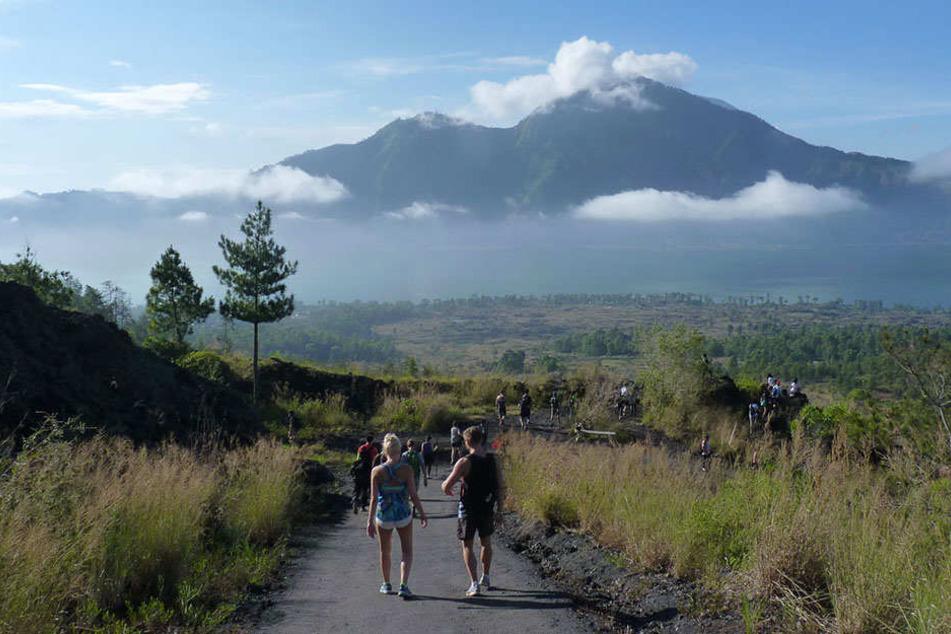 Der Agung Vulkan ist bei Wanderern sehr beliebt.