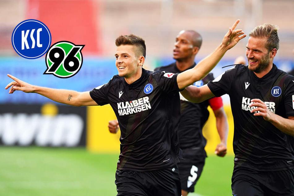 Nächste Sensation: KSC kegelt Hannover 96 aus dem DFB-Pokal!