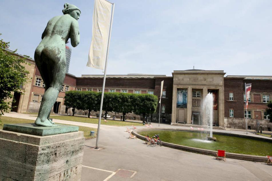 Das Stadtmuseum Kunstpalast in Düsseldorf.