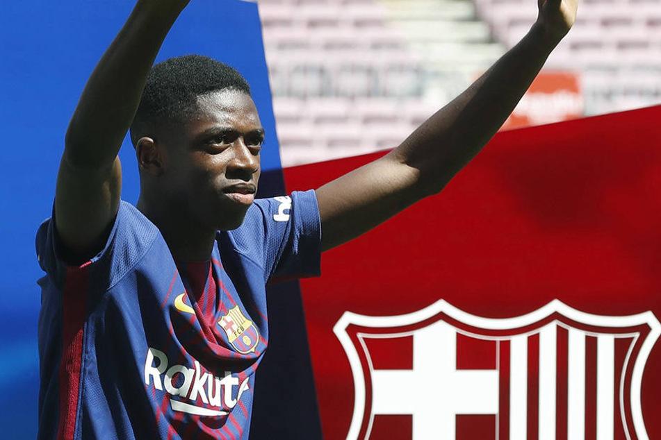 Ousmane Dembélé streikte sich von Borussia Dortmund zum FC Barcelona.
