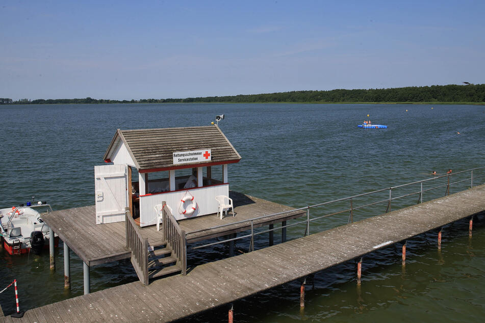 Unterwasserarchäologen wollen im Arendsee ein im Mittelalter gesunkenes Boot erforschen. Das Boot wurde vor einigen Jahren entdeckt. Der Zerfall droht. (Archivbild)