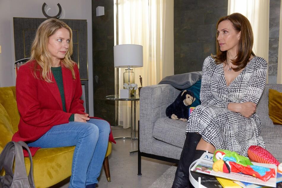 Melanie konfrontiert Katrin mit ihren Erinnerungen.