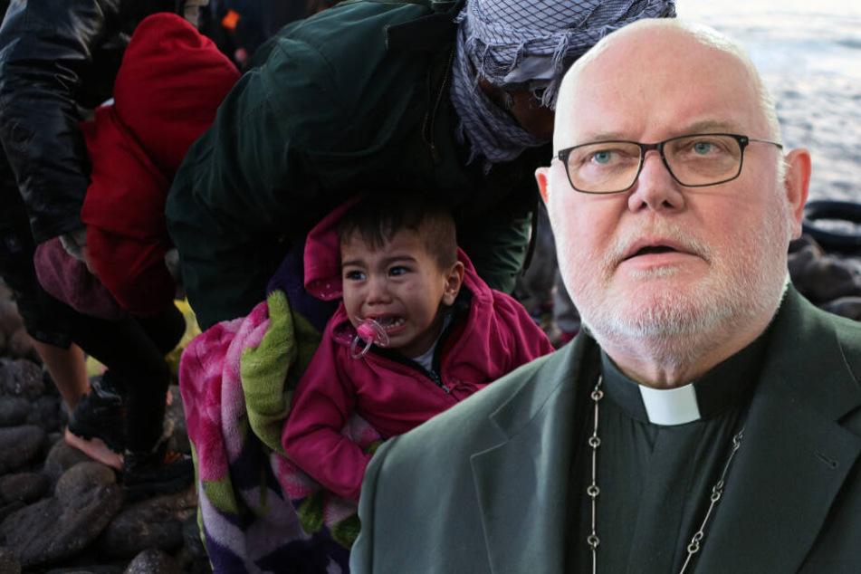 """Kardinal zu Kriegsflüchtlingen: """"Da sind wir mit im Boot"""""""