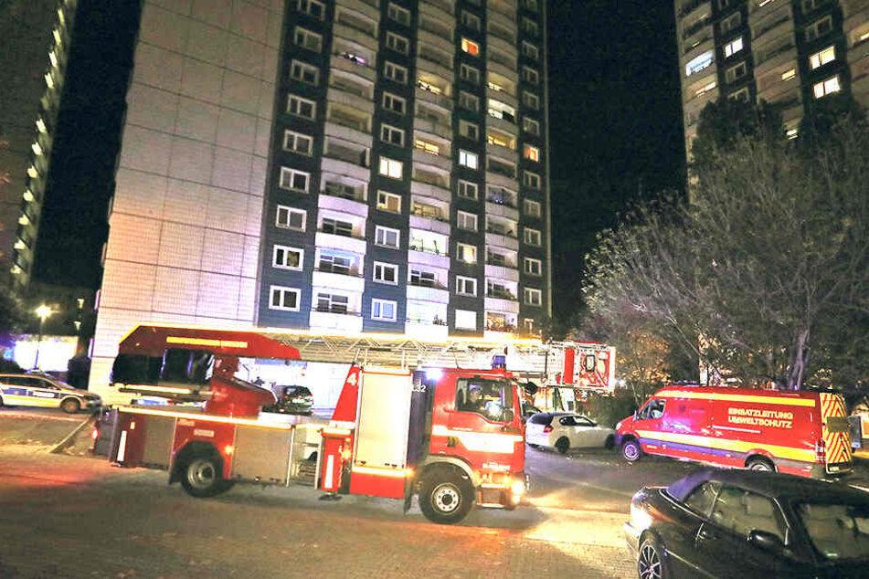 50 Kameraden waren im Einsatz zum Brand in der letzten Etage.