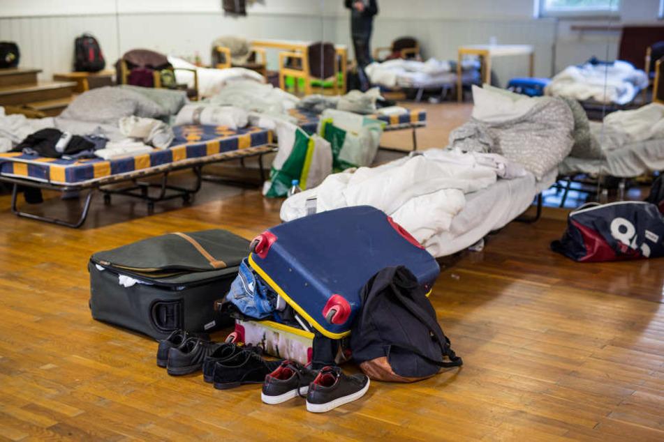 Eine Notunterkunft für angehende Studierende in Stuttgart. (Archivbild)