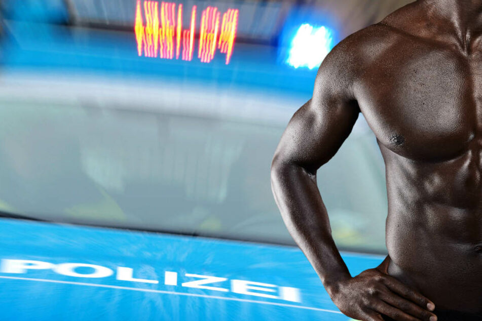 Der nackte Afrikaner erzählte den Polizisten eine äußerst pikante Geschichte (Symbolbild).