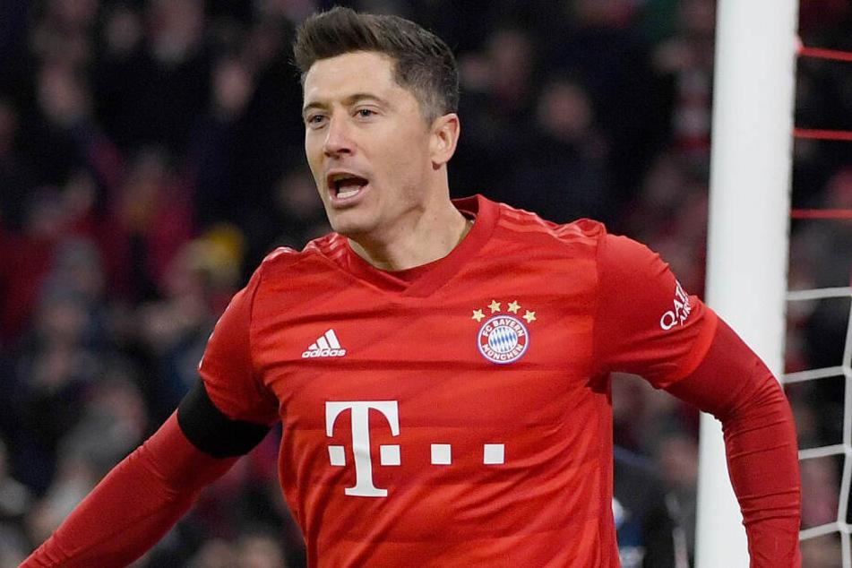 Robert Lewandowski wird dem FC Bayern München mehrere Wochen fehlen.