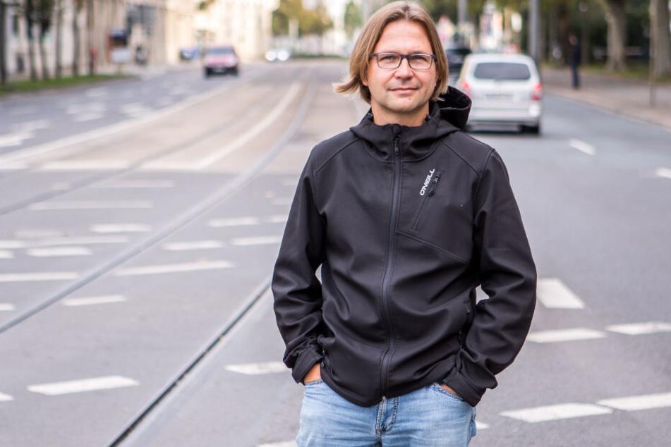 """""""Morgenpost""""-Reporter Alexander Bischoff berichtet seit 25 Jahren über Strafprozesse an sächsischen Gerichten und am Bundesgerichtshof."""
